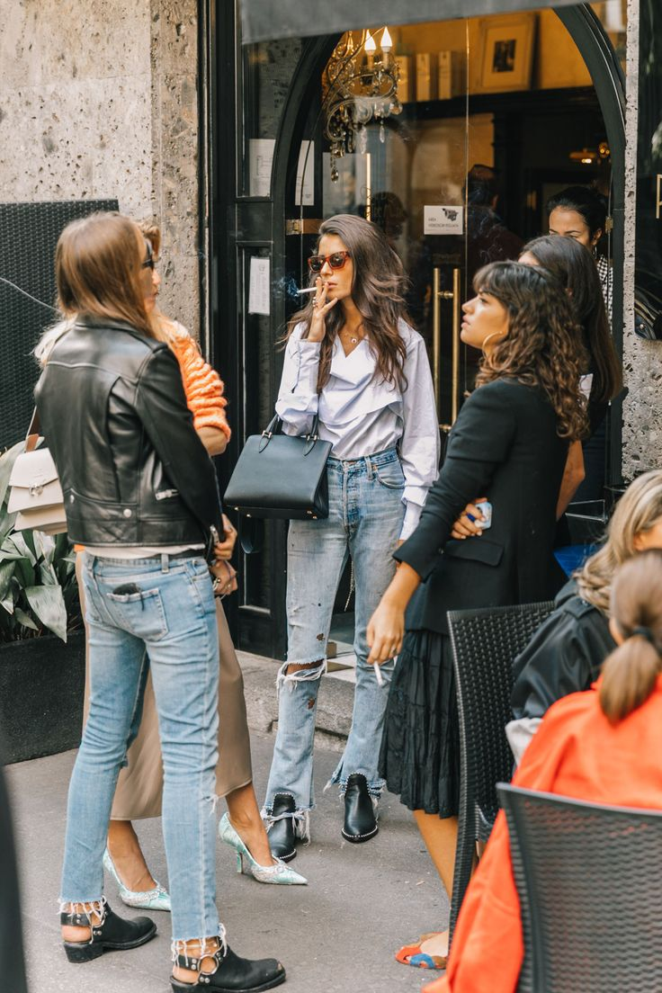 Jeans en clave rock