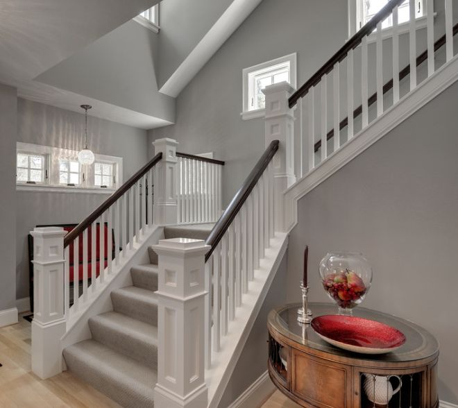 Foyer Colors Uk : Classic with a twist wood balusters how to create