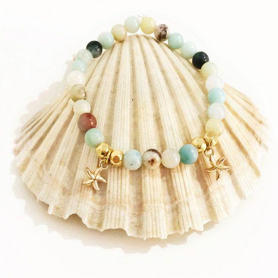 amazonite jewelry semi precious gemstones by christelboutique
