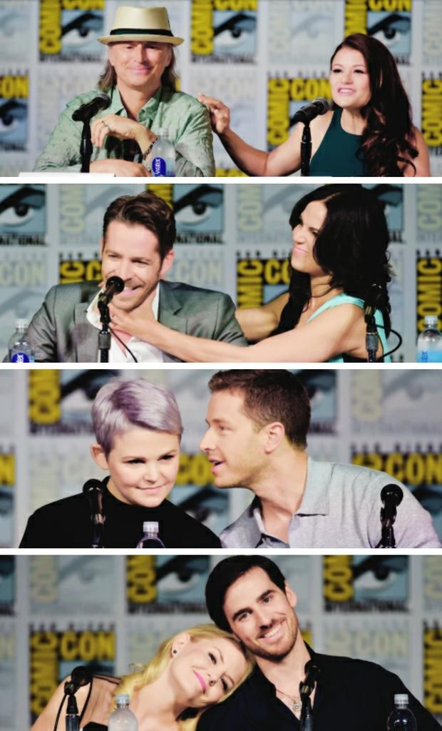 It is cuter when you remember that Ginny and Josh are married and that cute 100% of the time