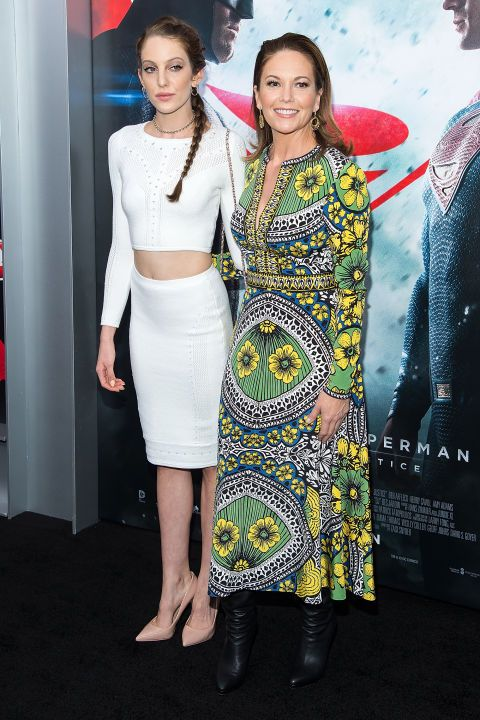 Eleanor Lambert, Diane Lane's 22-year-old daughter, appeared on the red carpet with her mother at the Batman v. Superman New York premiere. Eleanor is currently finishing her last year of NYU.