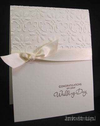 Wedding card simple