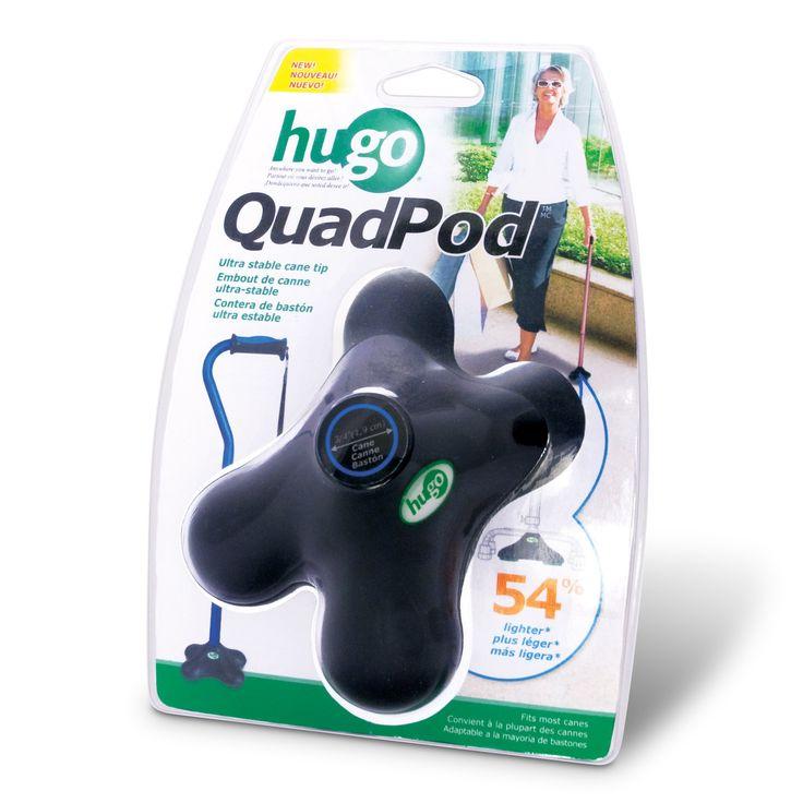 amazoncom hugo mobility quadpod ultra stable cane tip with compact quad design