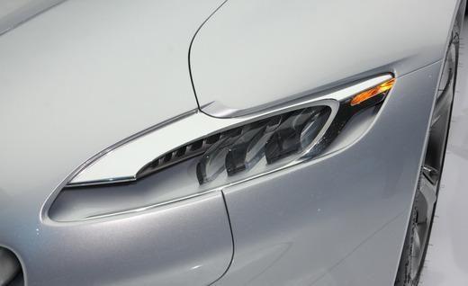 Peugeot SR1 concept head light