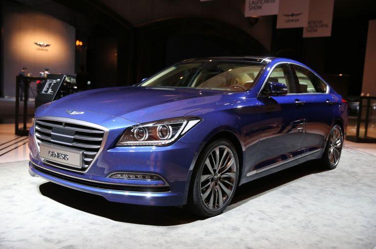 All-New 2015 Hyundai Genesis Four-Door Sedan
