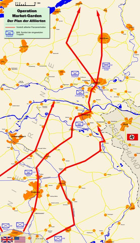 68 best 1944 Operatie Market Garden - Kaarten (maps) images on ...