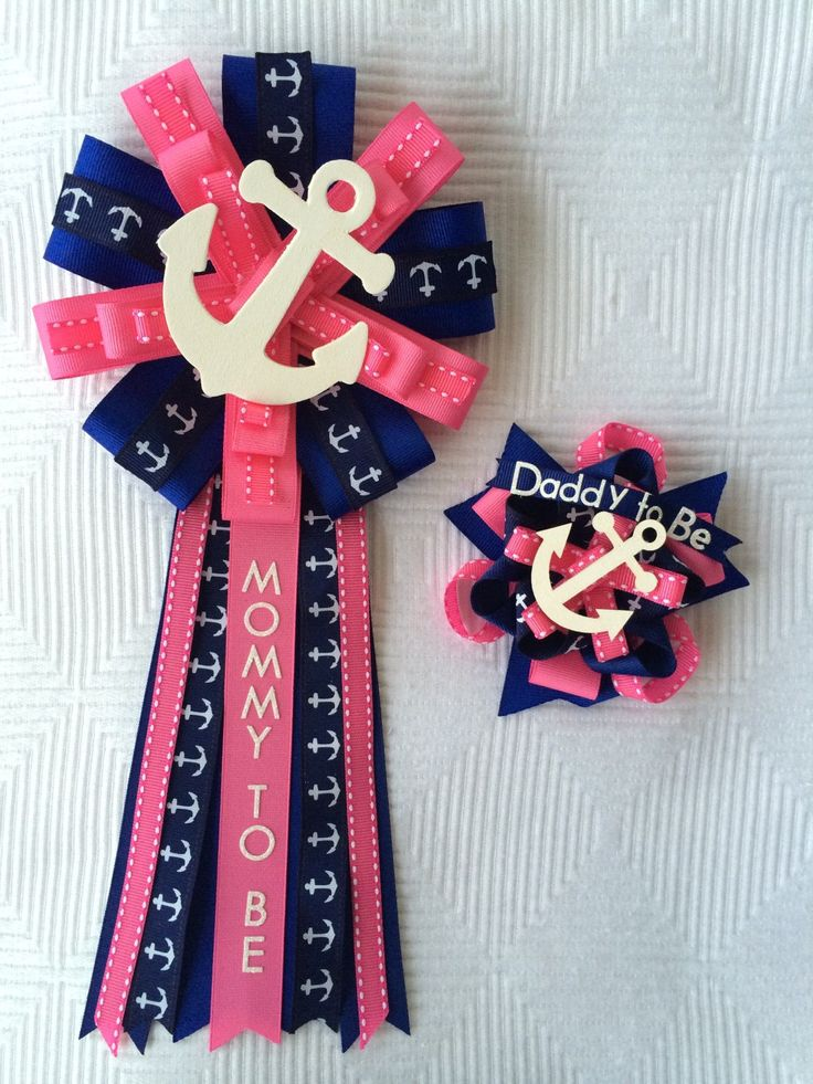 anchor baby baby shower corsages boy baby showers boy baby shower