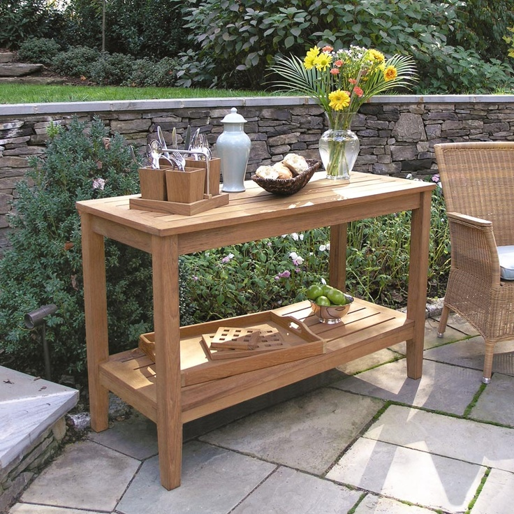25 Best Ideas About Outdoor Console Table On Pinterest