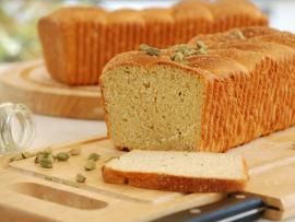 Swedish coffee bread with cardamom