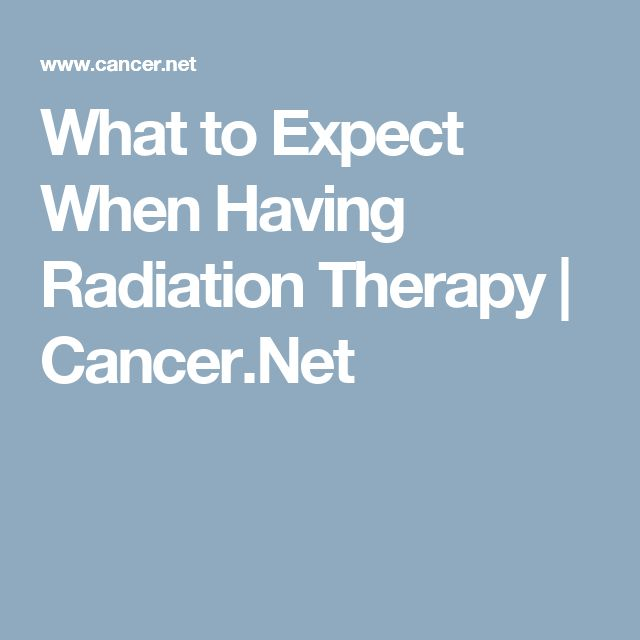 What to Expect When Having Radiation Therapy | Cancer.Net