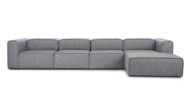 So much comfort and so many room for friends to lounge or watch the game from this Acura Right Sectional - Sectionals - Bryght | Modern, Mid-Century and Scandinavian Furniture