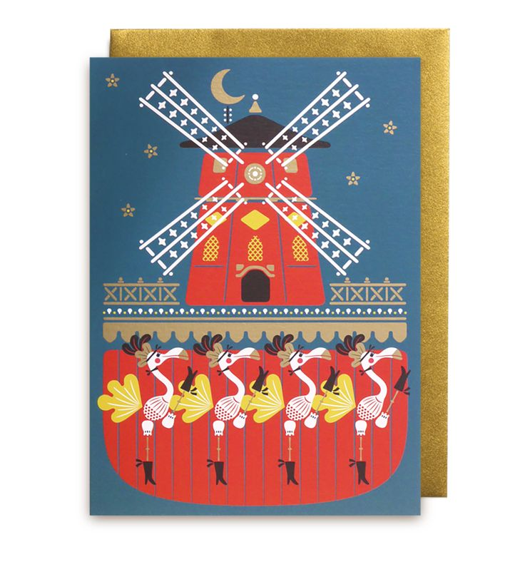 Greeting card by Studio Tipi   LAGOM DESIGN