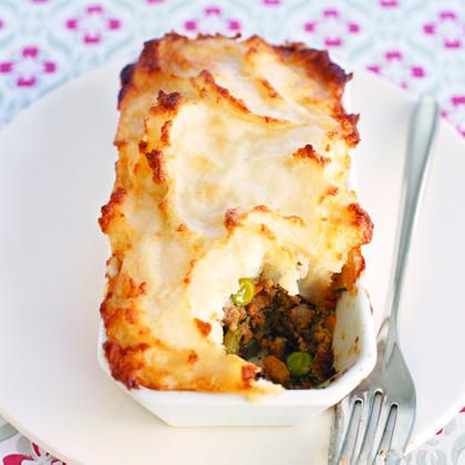Irish - Shepherd's Pie I believe I'll use the colcannon as the topper for this for St. Patrick's Day
