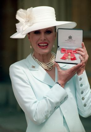 Image result for joanna lumley parkinson