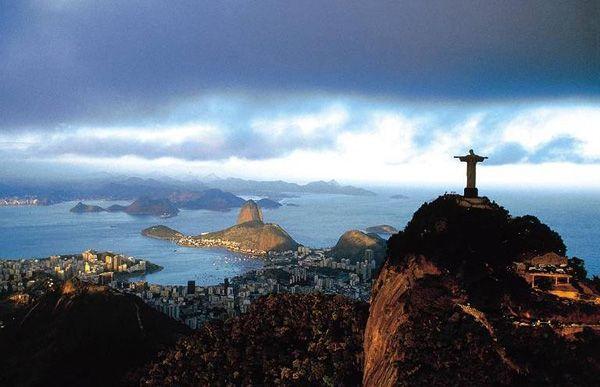 Christ on the Corvocado, Rio de Janeiro, Brazil