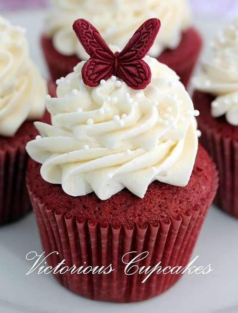 Red Velvet cakes 3 by Victorious Cupcakes, via Flickr
