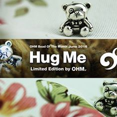 Ohm Beads Hug Me ( Abbracciami )  Il Bead per il mese di giugno.  Realizzato in edizione limitata a 789 pezzi nel mondo Da oggi disponibile in preordine. Abbracciami rappresenta l'amore incondizionato, i caldi abbracci e il periodo spensierato dell'infanzia.  www.gold-jewels-italy.com