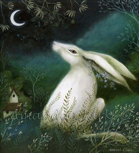 Painting Jade and Moss by Amanda Clark