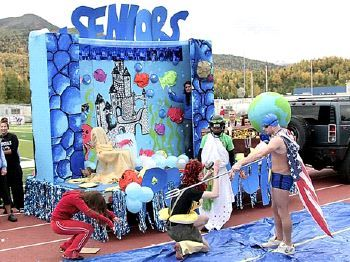 homecoming floats for high school | Alaska Star - Archived ...