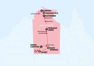 Contiki - Outback Adventure (Start Darwin) -11 Days