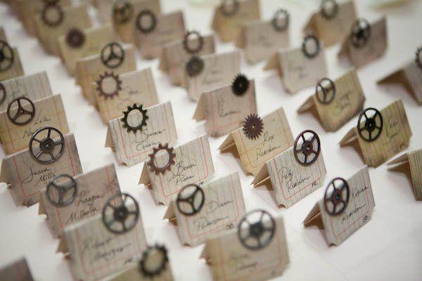steampunk wedding decor...Florist Wilmington NC   Bloomers Flowers Blog - Wilmington NC   BloomersBlog