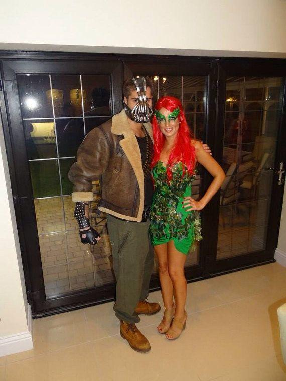 Bane and poison ivy   https://www.etsy.com/listing/154714592/poison-ivy-kim-kardashian-costume