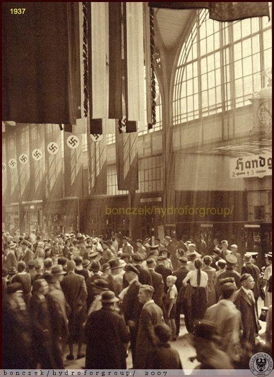 .1937 Dworzec Główny