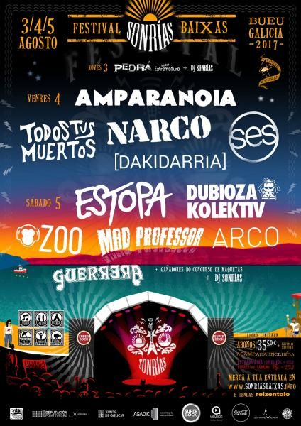 Festival SonRías Baixas 2017 | ticketea