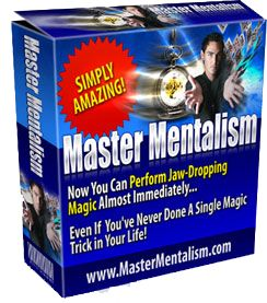 Master Mentalism Can Train Anyone (Even Raw Rookies) On How To Perform Jaw-Dropping #Mentalism Effects & #Magic #Tricks In As Little Time As Possible http://mastermentalism.com/welcome?hop=jags2012