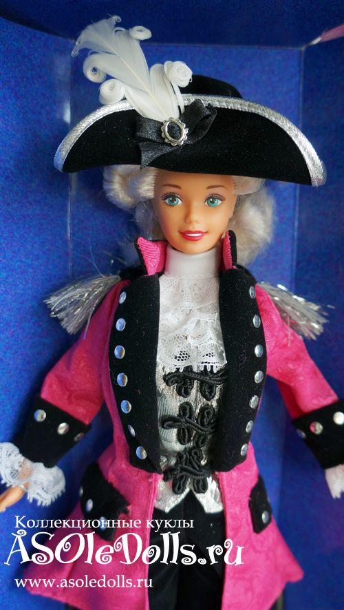 Коллекционная кукла БАРБИ ДЖОРДЖ ВАШИНГТОН http://www.asoledolls.ru/product_451.html  Рост: 28 см  Стоимость: 3690=