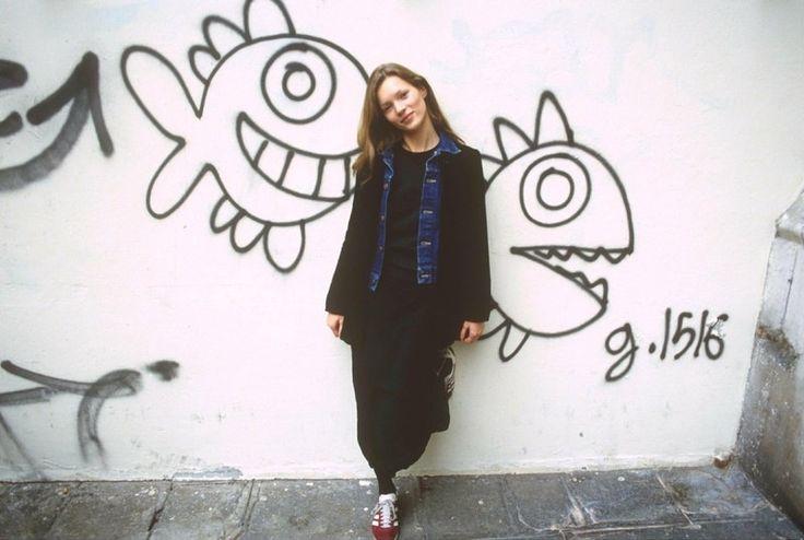 Kate Moss, Paryż, 1993, fot. East News