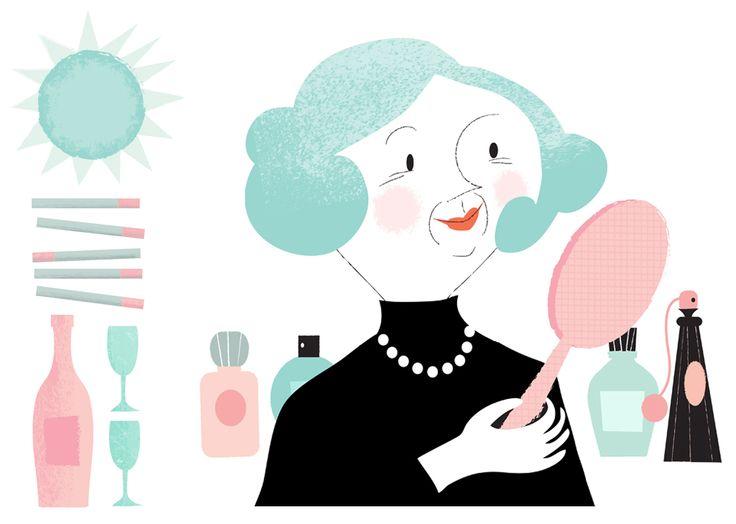 Illustration by Kati Närhi for Martat magazine, 2014