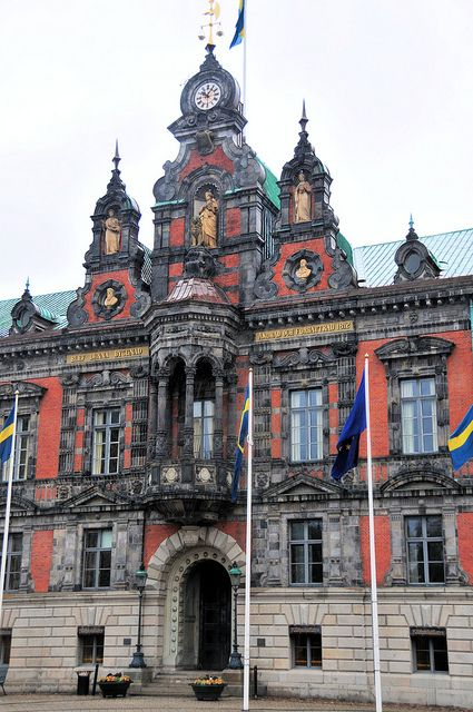 City Hall Building, Malmö, Sweden