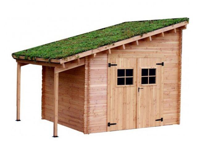 1000 id es propos de toit de pergola sur pinterest for Cabanon de jardin en solde