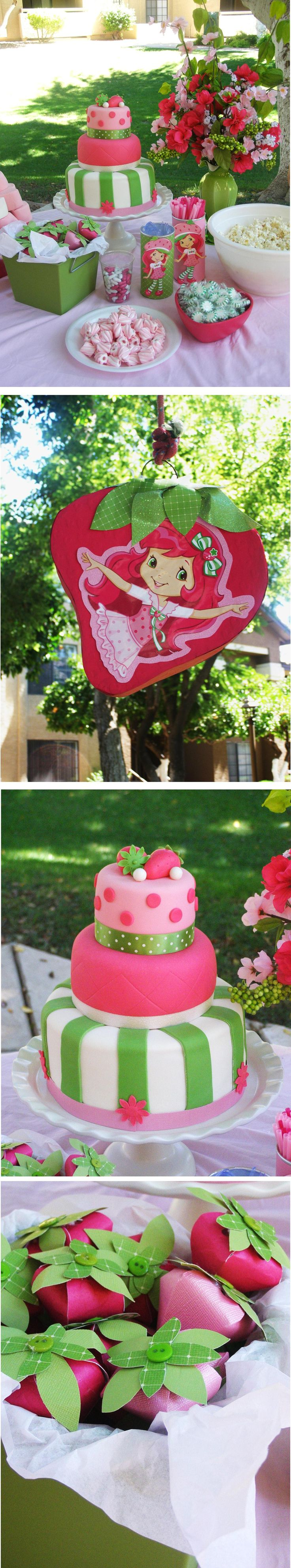 Adorable Strawberry Shortcake party!!