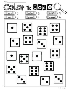 Print and Go! Back to School Math and Literacy (NO PREP) | Math ...