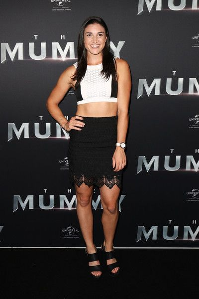 Michelle Jenneke Photos Photos - Michelle Jenneke arrives ahead of The Mummy Australian Premiere at State Theatre on May 22, 2017 in Sydney, Australia. - 'The Mummy' Australian Premiere - Arrivals