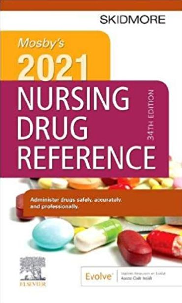 Download Mosby's 2021 Nursing Drug Reference 34th Edition ...