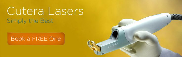We use Cutera lasers. The best of the best for laser hair removal and laser skin treatments. Safe, effective, proven.