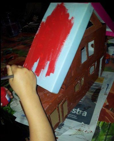 Fem de manetes i construim una casa pels playmobils! #sortirambnens