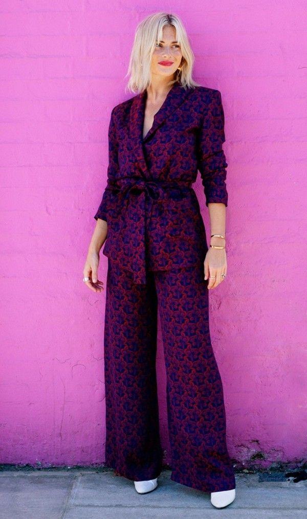 Menswear-Inspired Suit