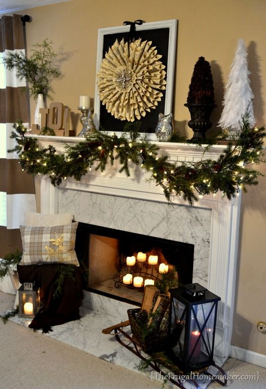 5 Winter Decorations DIY Home