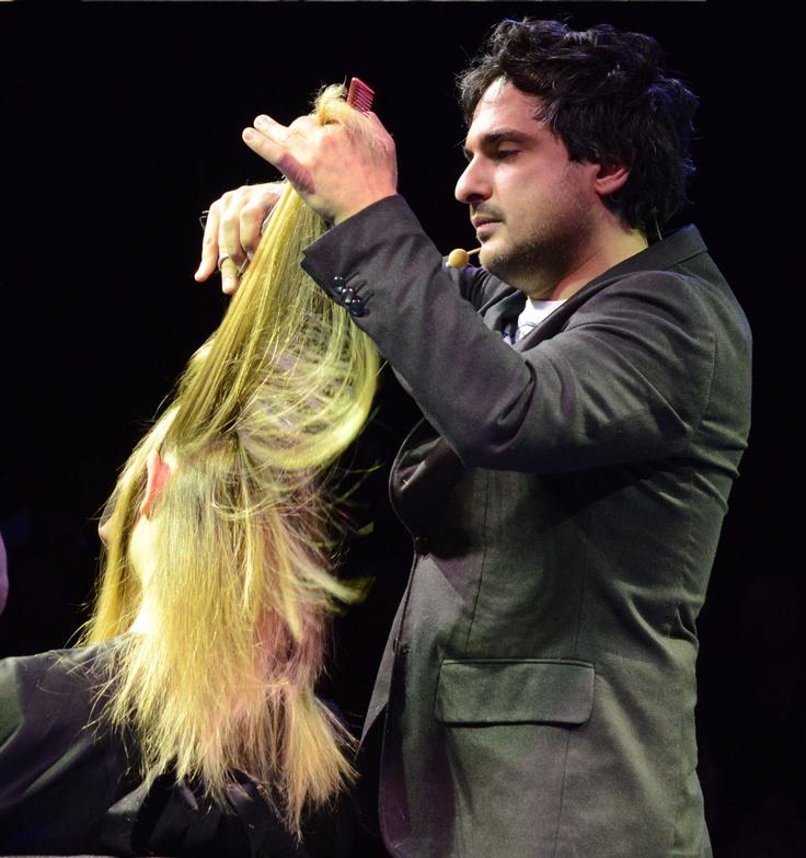 Cosmoprof Bologna 2013 On Hair Angelo Seminara per Davines-pin it by carden