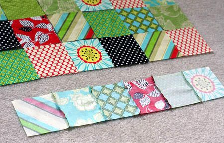 How to quilt: A very good explanation with pictures