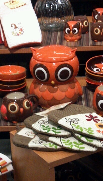 Owl kitchen collection need this for the home Owl kitchen accessories