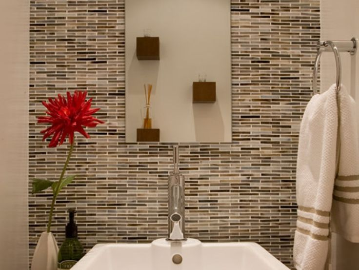Glass Bathroom Wall Tile Designs