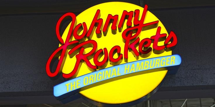 Logo de Johnny Rockets en Chile