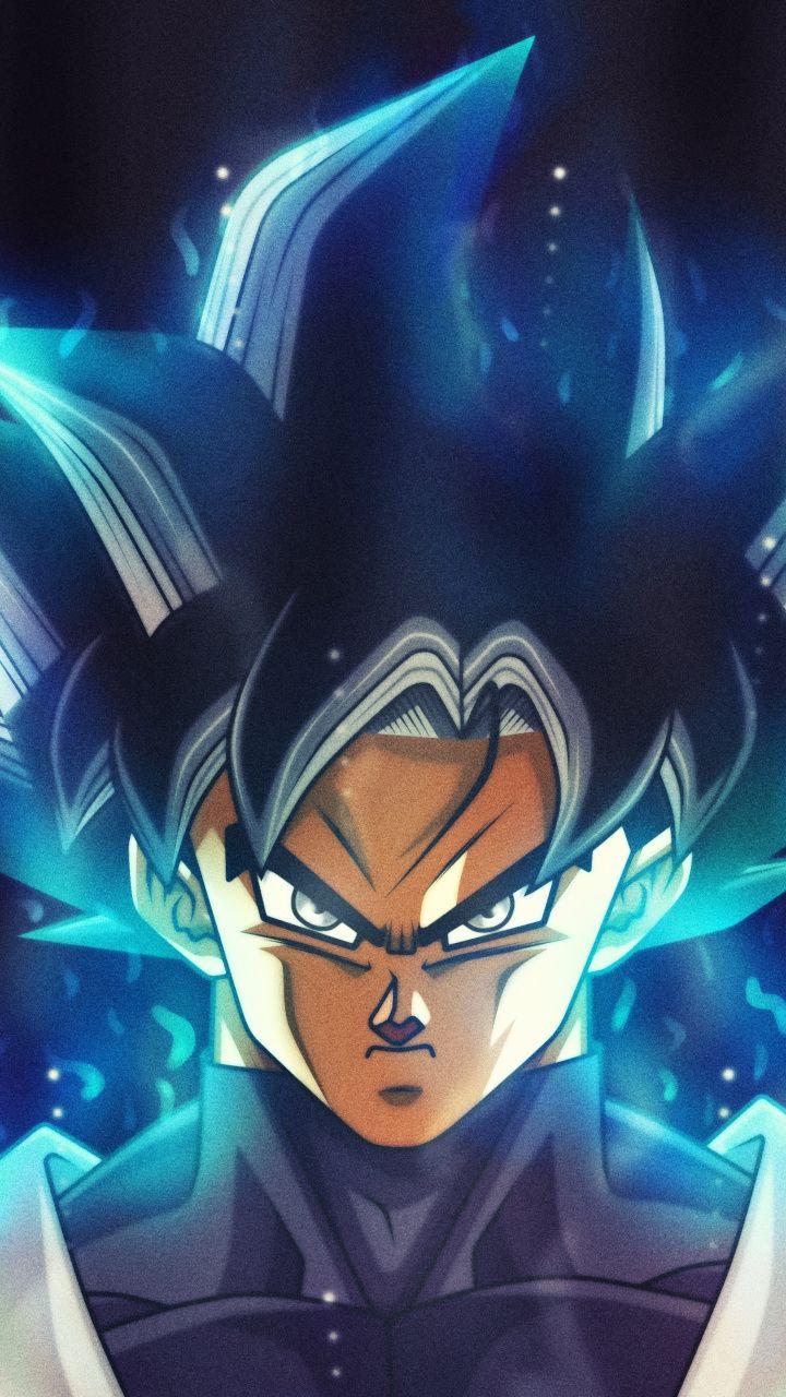 Black Goku Dragon Ball Super Anime Art 720x1280