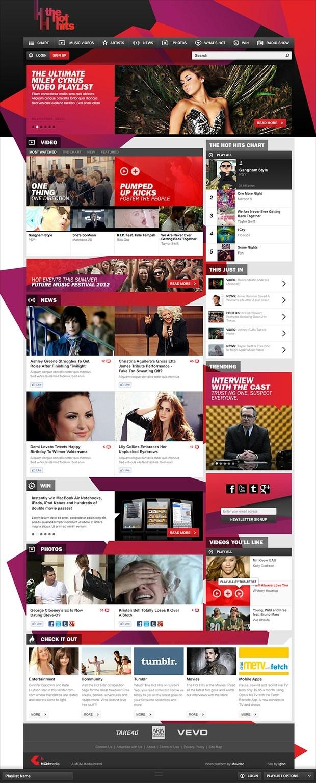 Weekly Web Design Inspiration #13   Downgraf - Design Weblog For Designers