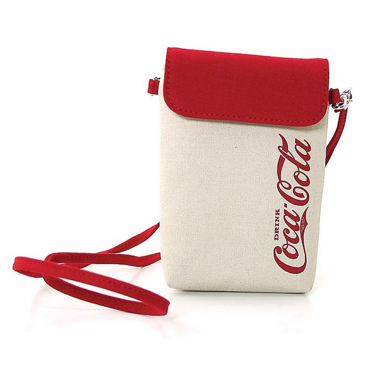 Officially Licensed Coca-Cola Pre 1910 Canvas Small Crossbody Bag